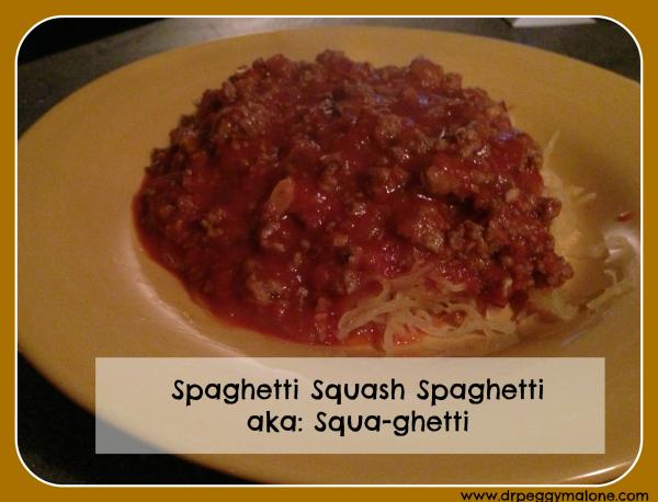 Spaghetti Squash Spaghetti AKA: Squa-ghetti