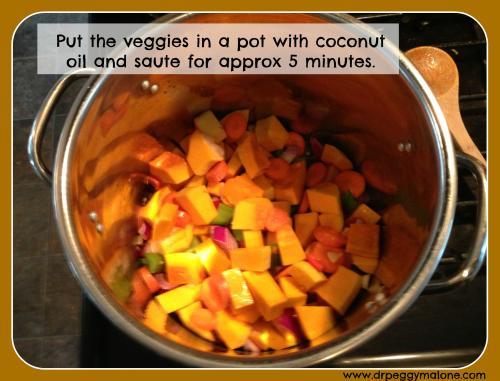Veg in the pot