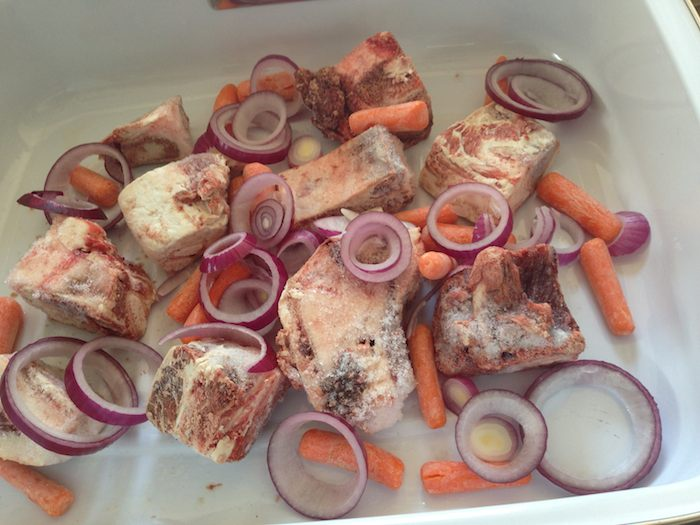 Roast Beef Bones