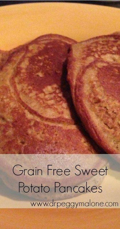 Grain Free Sweet Potato Pancakes Pin
