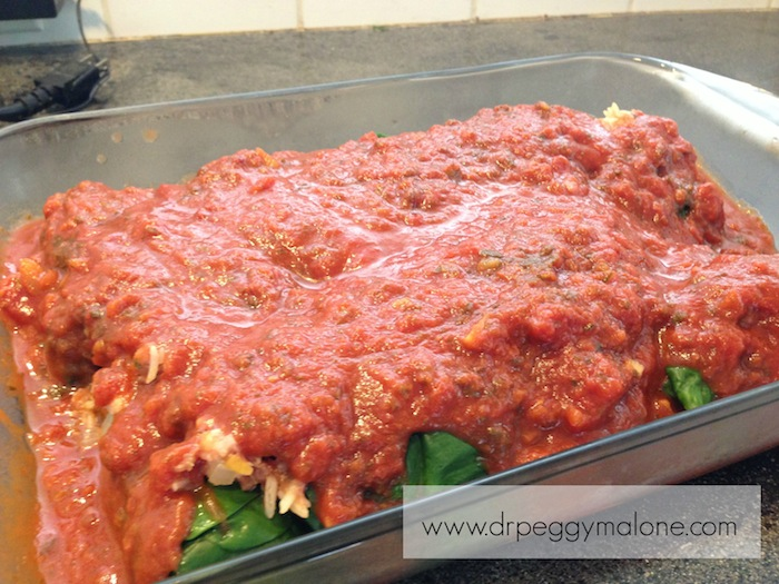 Rolls with Tomato Sauce