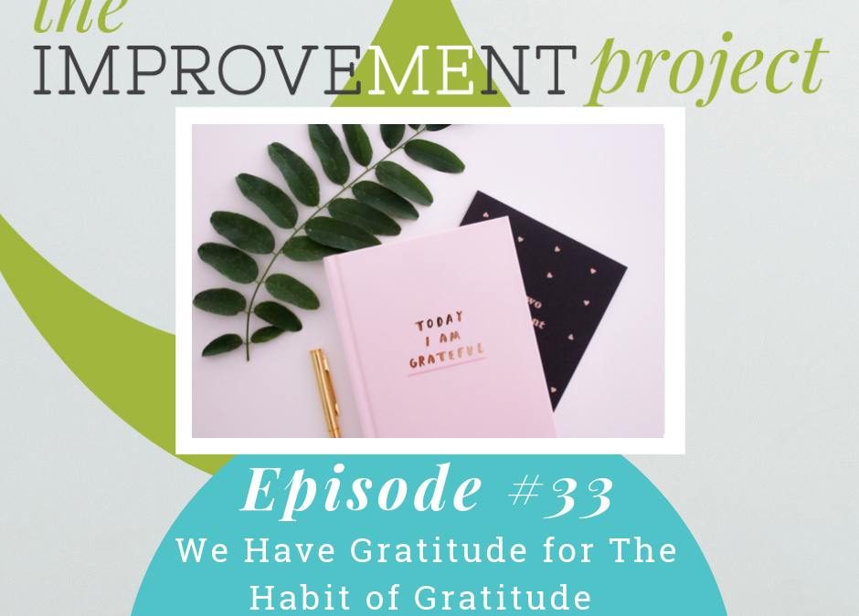 We Have Gratitude For The Habit Of Gratitude – 033