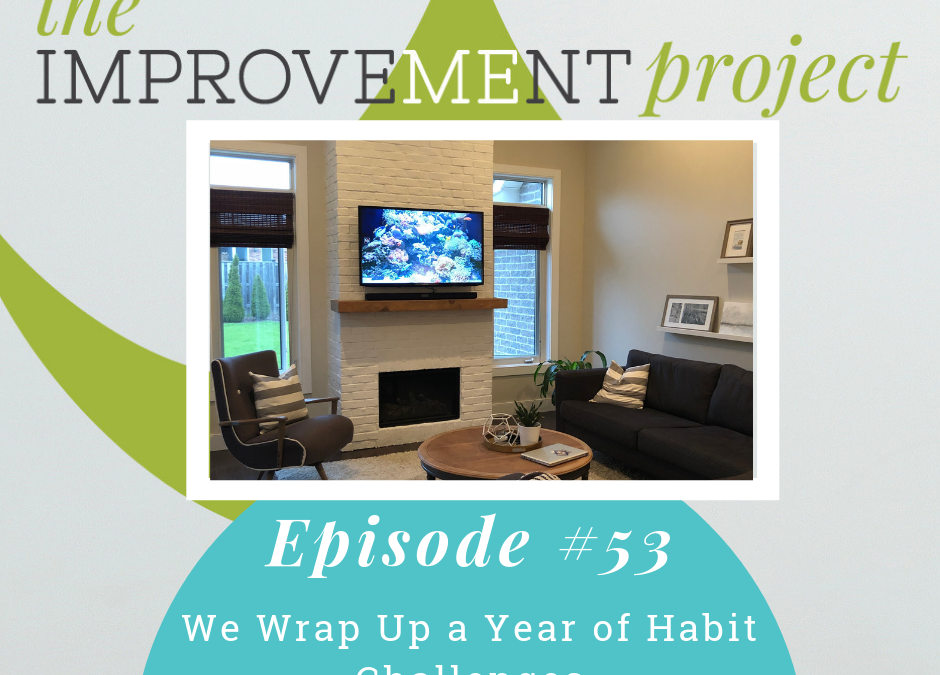 We Wrap Up a Year of Habit Challenges – 053