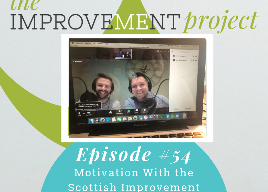 Motivation With the Scottish Version of The Improvement Project – 054