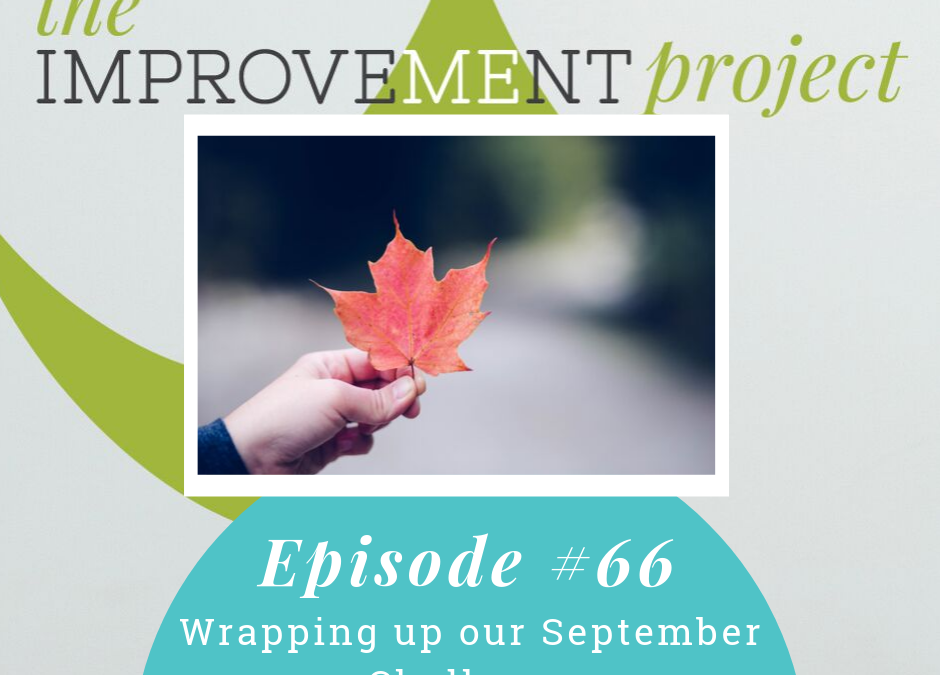 Wrapping up our September Challenge – 066
