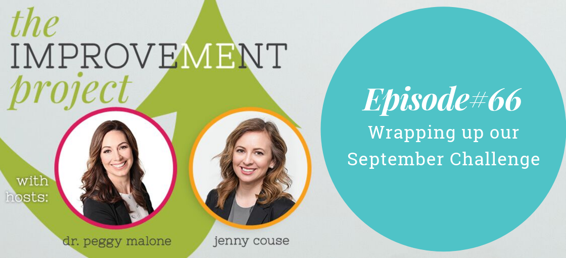 Wrapping Up Our September Challenge