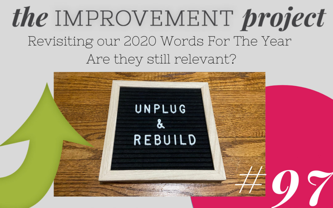 Revisiting Our Words For The Year for 2020. Are They Still Relevant? – 097
