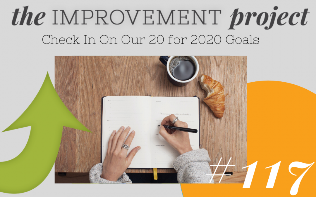 Check In On Our 20 for 2020 Goals – 117
