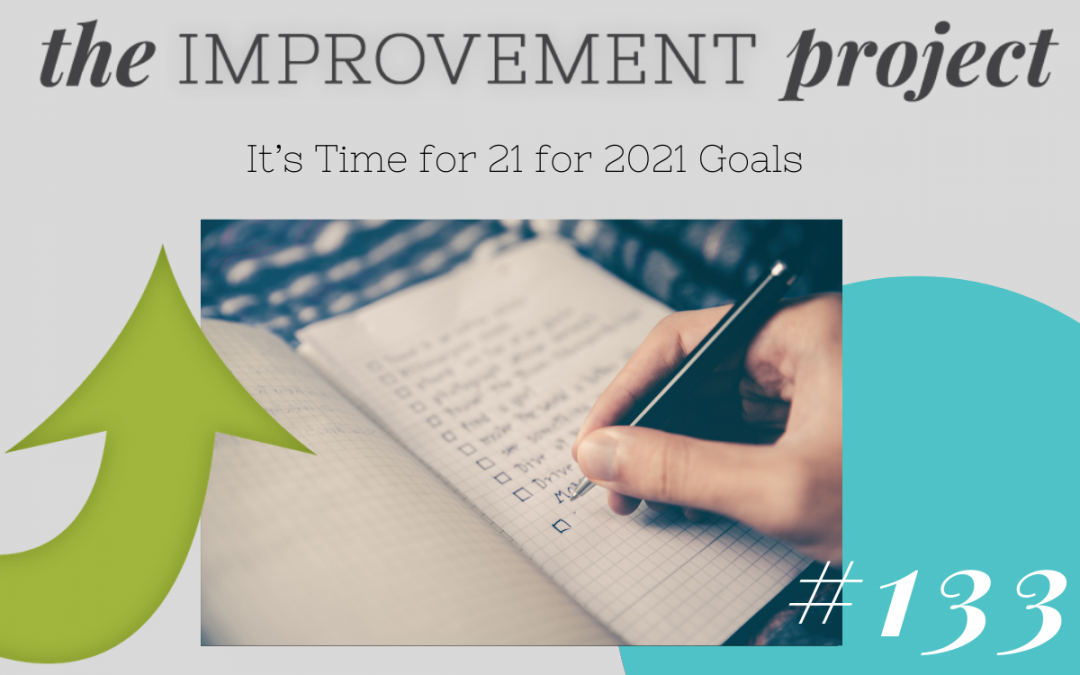 It's Time for 21 for 2021 Goals- 133